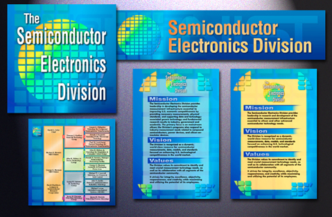 SED Posters for SemiCon West and wall display