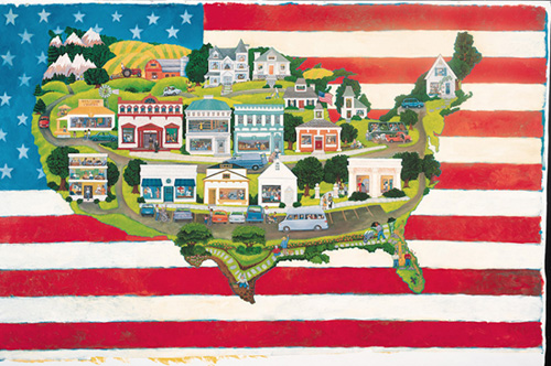 Green Thumb United States Mural